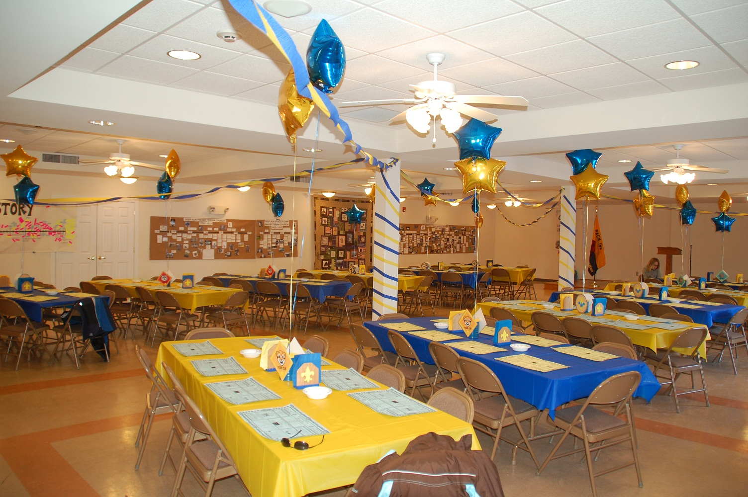 2010 Blue and Gold Banquet!